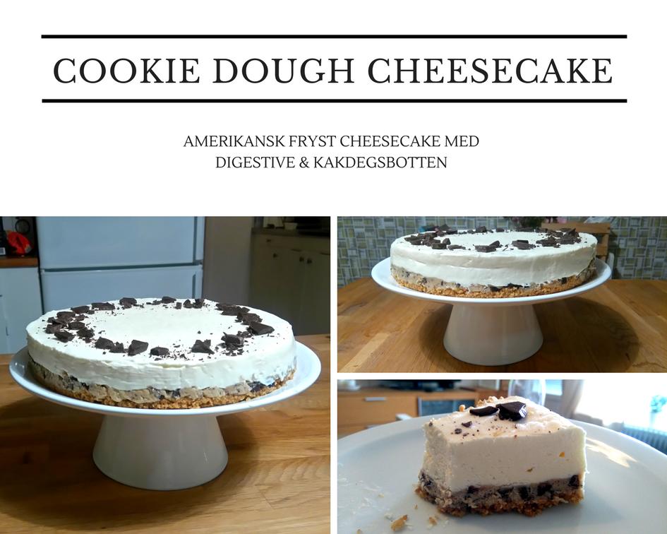 Cookie-dough cheesecake